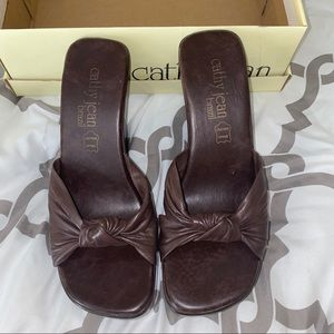 Cathy Jean wedges size 8